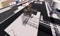 钢铁工厂三维漫游动画演示:三维工业机械动画制作