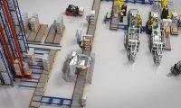 高科技智能化工厂产品生产:三维产品演示动画制作