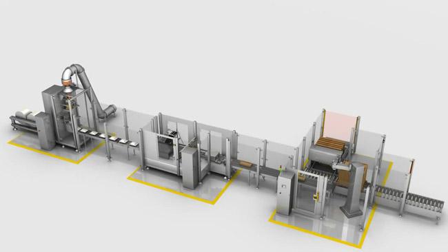工业机械动画制作