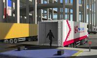 仓储货物视频配送分拣视频:物流分拣三维动画制作
