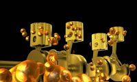 发动机配件模拟动画展示
