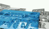 厂房剖面结构:管棚施工动画演示制作