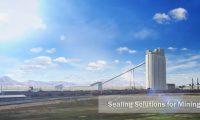 工业采矿业高科技密封系统:工业施工过程动画制作