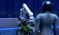 机械手臂组装摩托车生产线:机械模拟动画制作
