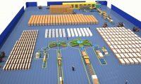 工厂全智能生产流水线:生产工艺动画制作