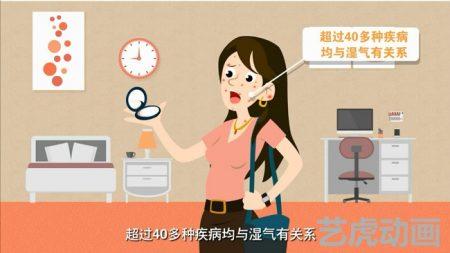 化妆品演示flash动画
