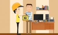 送餐平台宣传-二维mg动画